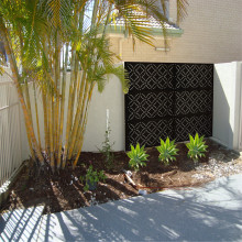 Decorative Metal Garden Screens