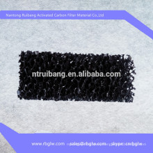 manufacturing all kinds of filter material activated carbon filter mesh