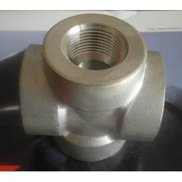 Cruz de tubo de aço carbono zincado