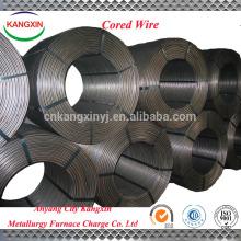 Bom preço de fornecimento de liga de metal, FeSi / arame tubular de silício ferro