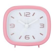 Hot sale promotion cheap plastic deco nice 3D number alarm table clock