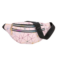 Customized porch fanny packs leather belt bag national popular style for lady women waterproof PU material waist bag