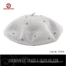 New Product Wholesale Acrylic Beret hats