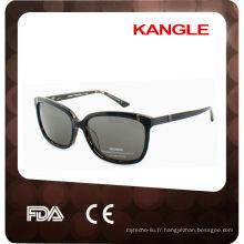 Dernières lunettes de soleil classiques en acétate fabriquées à la main