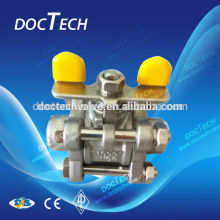 3--PC design Butterfly Level Ball Valve .ASTM.A216WCB