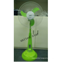 Unitedstar Newest16′′ DC Stand Fan with Light/MP3