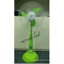 Ventilador do suporte da CC de Unitedstar Newest16 with with com luz / MP3