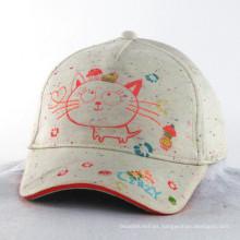 Tejido de tela de color neón niños niños bebé sombrero