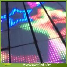 Éclairage d'étape de plancher de danse de Disco LED de boîte de nuit