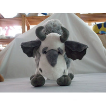 stuffed plush animal toy plush cow plush