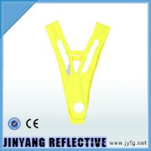 cinturón de seguridad reflectante de transferencia de calor de alta visibilidad para niños