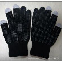 Gants d'écran tactile Palm pointillés ZMT01