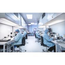 sala limpia del sistema hvac para productos farmacéuticos