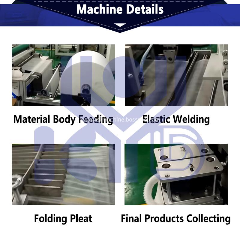 shower cap machine details