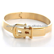 Unique design for fashionistas stainless steel gold plating bracelet