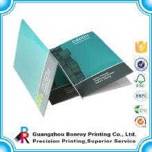 A4-Format glänzend Papier benutzerdefinierte Datei Ordner Großhandel