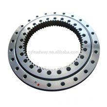 Four point contact ball slewing bearing turntable for cranes