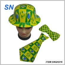 2014 Brasil Copa del Mundo de PVC Carnaval Fútbol Hat