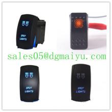 Interrupteur à bascule LED Carling Spst pour laser de voiture