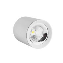 Luz de teto LED clássica com moldura branca embutida