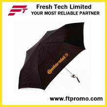 Baratos de las mujeres de los niños de las mujeres que doblan el paraguas de la sombra de la lluvia