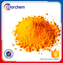 Pó amarelo do pigmento do cromo