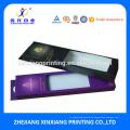 Kundengebundener Größen-Druck-Einzelhandels-elegante Haar-Erweiterungs-Verpackenkästen mit Fenster