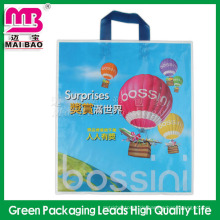 Biologisch abbaubares Material recycelte billige kundenspezifische Einkaufsplastiktaschen für die Geschenkverpackung