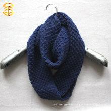 Новая мода осень и зима вязать дешевый шарф бесконечности для женщин или мужчин