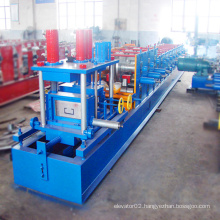Best quality u profile guide rail roll forming machine