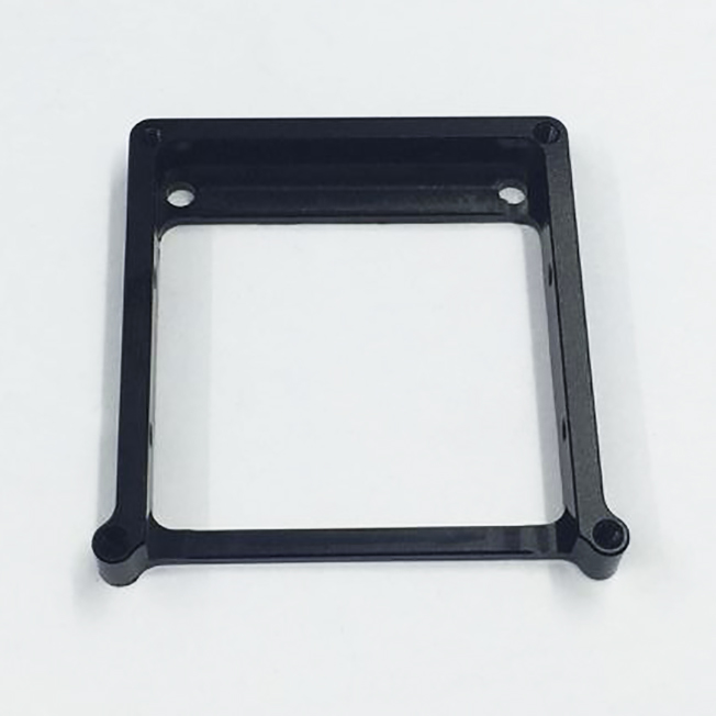 machined aluminum calibration bracket