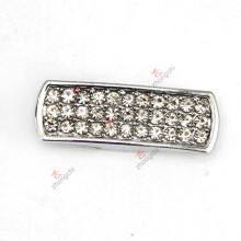 8mm largo barra de diapositivas encantos para la joyería pulsera