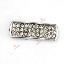 8mm Long Bar Slide Charms for Bracelet Jewelry