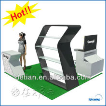 Modern exhibition display stand acrylic display stand