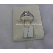 Cubic Zirconia Silver Jewelry Rings (SAM_5925)
