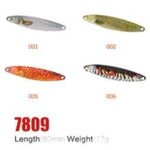 Лучшая цена 80мм 17г Рыбалка ложка приманки