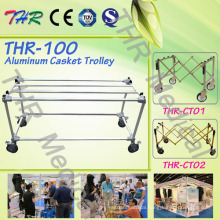 Aluminum Alloy Casket Trolley (THR-100)