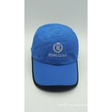 Casquillo de golf promocional al aire libre del béisbol del bordado azul (ACEK0052)