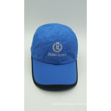 Outdoor Promotional Blue Embroidery Baseball Golf Cap (ACEK0052)