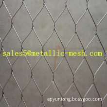 stainless steel wire rope mesh net netting