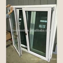 Ventana moderna del marco del estilo de las ventanas del panel triple moderno del diseño americano para construir