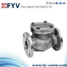API6d Válvula de retenção em aço forjado / Válvula anti-retorno