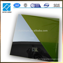 Hoja grande del espejo grande del aluminio del tamaño