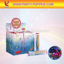 20CM Party Poppers con Foil Streamer