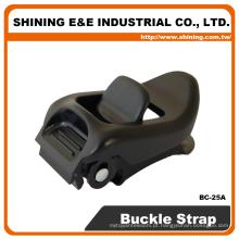 BC25A-BL15A Instalação de laço de aperto de fivela de liberação rápida