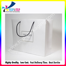 Einfache weiße Krafttasche mit großer Größe