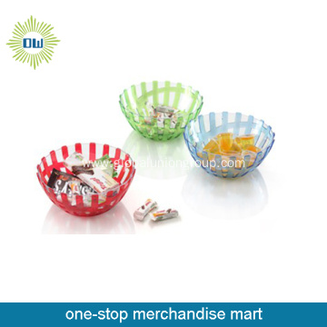 Wholesale Plastic Containers Salad Bowl
