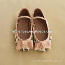 Большой балетный балетный леопард холст материал девочки обуви ремень группы школьные ботинки квартиры