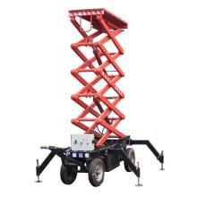 1t Movable Hydraulic Working Platform, Scissor Lift
