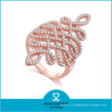 OEM/ODM Accepted Costume CZ Fashion Ring (R-0650)